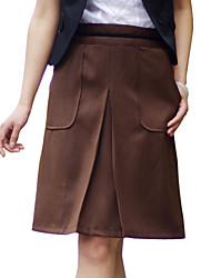 JUPE ( Polyester ) Au dessus des genoux - Style - Moyen