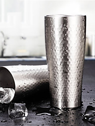 Clássico Artigos para Bebida, 430 ml Design Ergonómico Aço Inoxidável Cerveja Água Copo