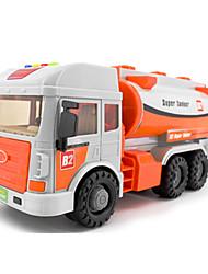 Véhicule de Ferme Véhicules à Friction Arrière Jouets de voiture 1:48 Plastique Métal Orange Maquette & Jeu de Construction