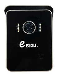 Ebell ATZ-DB004P WIFI Doorcam IR Wide Angle CMOS Sensor Wireless WIFI Doorbell Two Way Audio/Video/Mobile View IP Indoor Camera