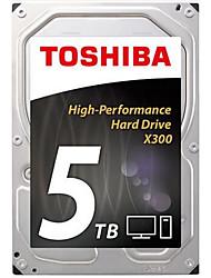 Toshiba 5TB Área de trabalho do disco rígido 7200 SATA 3.0 (6Gb / s) 128MB esconderijo 3.5 polegadas-HDWE150