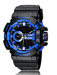 OHSEN Sports Leisure Multifunctional Digital Display  Waterproof Watch