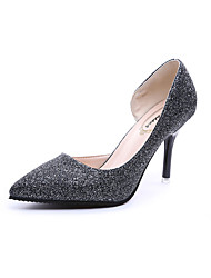 Women's Heels Spring Summer Comfort PU Casual Low Heel Others Black Silver Gold Other