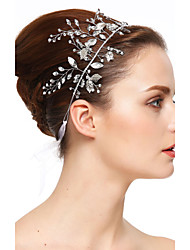 Women's Rhinestone Crystal Headpiece-Wedding Special Occasion Headbands 1 Piece