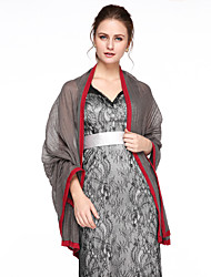 Women's Wrap Shawls Cotton Wedding Party/Evening Office & Career