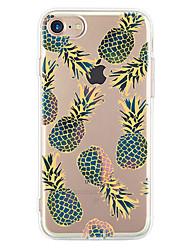 Pour Ultrafine Motif Coque Coque Arrière Coque Fruit Flexible PUT pour Apple iPhone 7 Plus iPhone 7 iPhone 6s Plus/6 Plus iPhone 6s/6