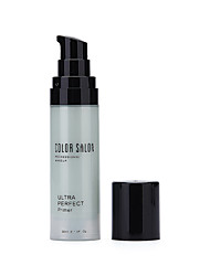 Color Salon Makeup Primer Correcting Redness Concealer Face Whitening 30ml Long wear Moisturizer