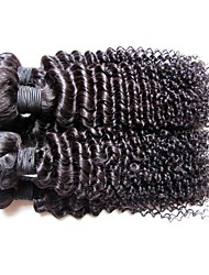 wholesale 12a brazilian virgin hair kinky curly style 1kg 10pieces lot unprocessed brazilian human hair weaves bundles natural black color