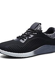 2017 Men's Sport Shoes Youth Trend  Pure Color Outdoor Running Walking Shoes