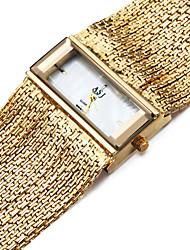ASJ Женские Часы-браслет Повседневные часы Японский Кварцевый Японский кварц Защита от влаги Ударопрочный Медь ГруппаС подвесками