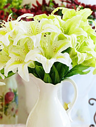1 Филиал Пластик Другое Лилии Искусственные Цветы 20*20*45