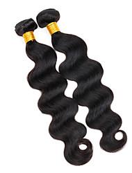 Tissages de cheveux humains Cheveux Vietnamiens Ondulation naturelle 12 mois tissages de cheveux
