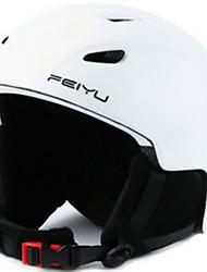 Helm Unisex Extremsport Extraleicht(UL) Sport Sportschutzhelm Weiß Rosa Schwarz Schneehelm PCBergradfahren Ski Snowboarding Alpin Ski