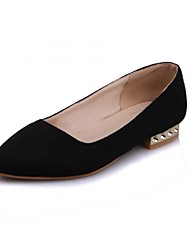 Women's Flats Spring Summer Fall Winter Comfort Novelty PU Synthetic Leatherette Wedding Office & Career Party & Evening