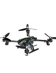 Drone WL Toys 4 Canaux 6 Axes 2.4G Avec Caméra HD 720P Quadri rotor RCEclairage LED Retour Automatique Auto-Décollage Sécurité Intégrée