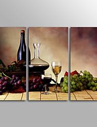 canvas Set Impressão em tela sem moldura Vida Imóvel Clássico,3 Painéis Tela Horizontal Impressão artística Decoração de Parede For
