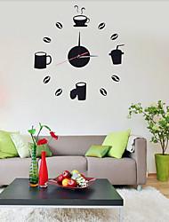 Модерн Офисный Семья Школа/выпускной Друзья Настенные часы,Новинки Акрил 50*50 В помещении Часы