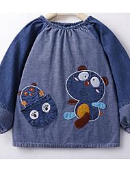 Baby Tank Top & Leibchen,Lässig/Alltäglich einfarbig-Baumwolle-Winter-Blau