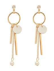 Drop Earrings Hoop Earrings Copper Fashion Gold Jewelry Party Daily 1 pair