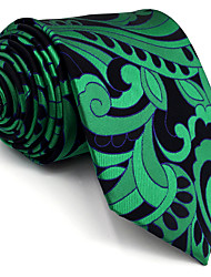 BXL23 Mens Necktie Dark Turquoise Multicolor 100% Silk Business New Fashion Wedding Dress For Men