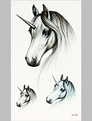 Fashion Tattoo Unicorn Waterproof Tattoo Stickers