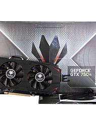 colorful® scheda grafica video iGame gtx750ti 2GD5 1085-1098mhz / 5400mhz 2gb / 128bit GDDR5 PCI-E 3.0