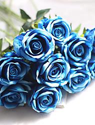 1 Ramo Outras Rosas Flor de Mesa Flores artificiais 8*8*51
