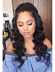 High Quality Human Hair Full Lace Wigs Wave Black Women Brazilian Virgin Hair Full Lace Wig