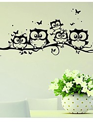 Animales Pegatinas de pared Calcomanías de Aviones para Pared Calcomanías Decorativas de Pared,Vinilo Material RemovibleDecoración