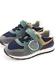 Girl's Boots Comfort PU Casual Green Gray Light Brown