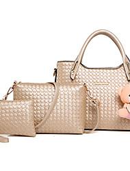 Women PU Casual Outdoor Office & Career Bag Sets