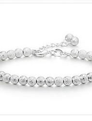 Strand Bracelet Silver Plated Fashion Jewelry Silver Jewelry 1pc
