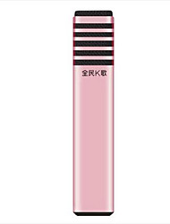 TAKSTAR Com Fios Microfone de Karaoke 3.5mm Rosa