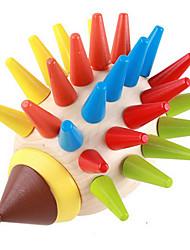 Пазлы Обучающая игрушка Строительные блоки Игрушки своими руками 1 Дерево Радужный Хобби и досуг