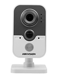 HIKVISION® DS-2CD2452F-IW 5MP IR Cube IP Camera Indoor (Built-in Wi-Fi Motion Detection 10m IR DC12V POE Build-in Microphone Digital WDR 3D DNR)