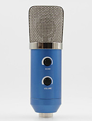 MK-F100TL USB Condenser Studio Sound Recording Microphone with Stand for Radio Broadcasting Studio