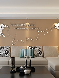 3D Stickers muraux Autocollants muraux 3D Autocollants muraux décoratifs,Vinyle Matériel Décoration d'intérieur Calque Mural