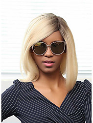 New Pattern Gradient Color Fashion Prevailing Bobo Head Human Hair Wig