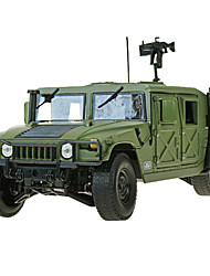 Military Vehicle Toys Car Toys 1:18 Metal ABS Plastic Green Model & Building Toy