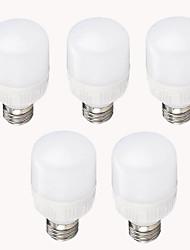 5W E26/E27 LED a pannocchia G50 11 SMD 2835 500 lm Bianco caldo Luce fredda Decorativo AC 220-240 V 5 pezzi
