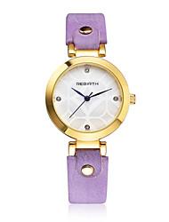 REBIRTH Dámské Módní hodinky / Křemenný PU Kapela Elegantní Běžné nošení Černá Bílá Orange Hnědá Fialová