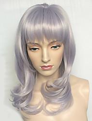 partido peruca sintética ondulado natural penteado traje recurso peruca das mulheres