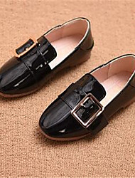 Girl's Sandals Comfort PU Casual Black Brown Green