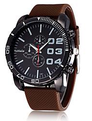 Womage Restoring Ancient Ways British Big Dial Your Third Silicone Strap Quartz Watches