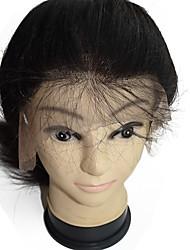 pleine perruque de cheveux humains cheveux vierges belle 12inch de qualité meilleure qualité pour les femmes