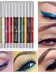 12 cores profissional tornar-se da sombra do olho lip liner sobrancelha brilho sombra lápis delineador caneta maquiagem cosmética