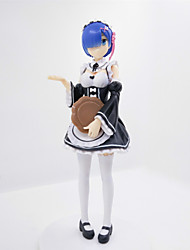 Anime Action Figures Inspired by RE ZERO Starting Life in Another World  Rem PVC 17 CM Model Toys Doll Toy 1pc