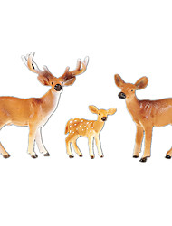 Display Model Elk Classic & Timeless Chic & Modern Model & Building Toy For Boys For Girls Polycarbonate Plastic