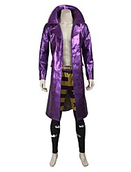 Cosplay Costumes Halloween Props Party Costume Masquerade Super Heroes Burlesque/Clown Cosplay Movie Cosplay Light Purple SolidCoat Pants