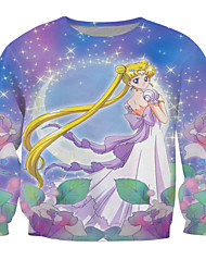 Festival/Holiday Halloween Costumes Print T-Back Unisex Polyester